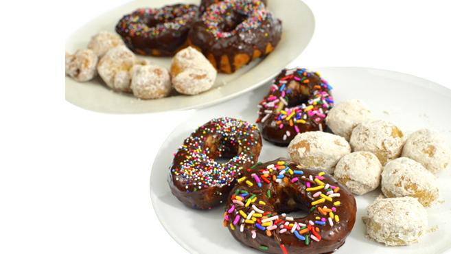 recipe: pizza dough doughnuts [24]