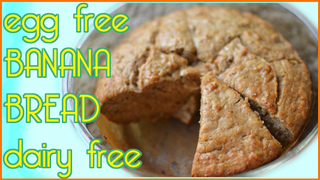 Sweet Banana Bread - Vegan & Fat Free - Moist! Rich Bitch Cooking Blog