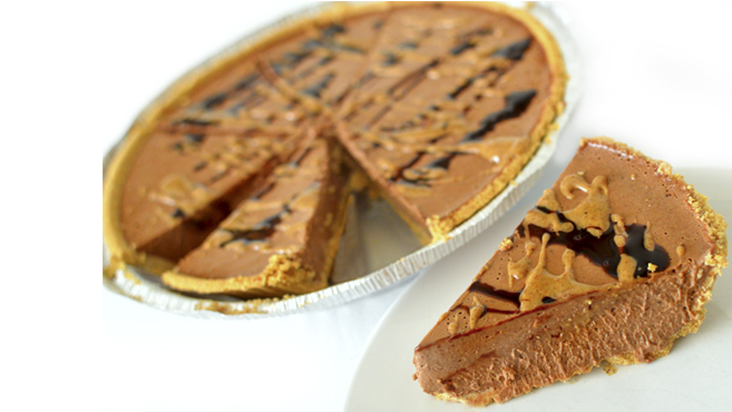 Best Chocolate Almond Butter Pie! No Bake -Vegan/Paleo Dessert Rich Bitch Cooking Blog