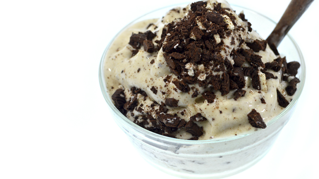 Vegan Cookies N Cream Ice Cream - Low Fat - No Machine Rich Bitch Cooking Blog