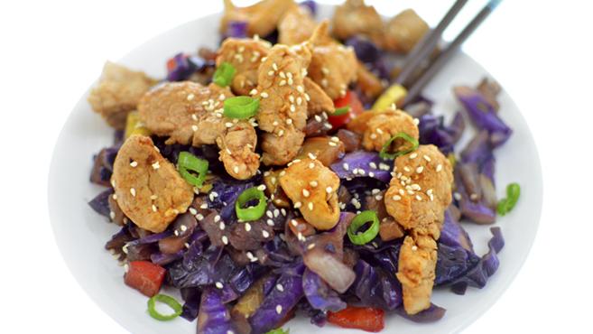 Asian Pork Tenderloin Stir Fry Rich Bitch Cooking Blog