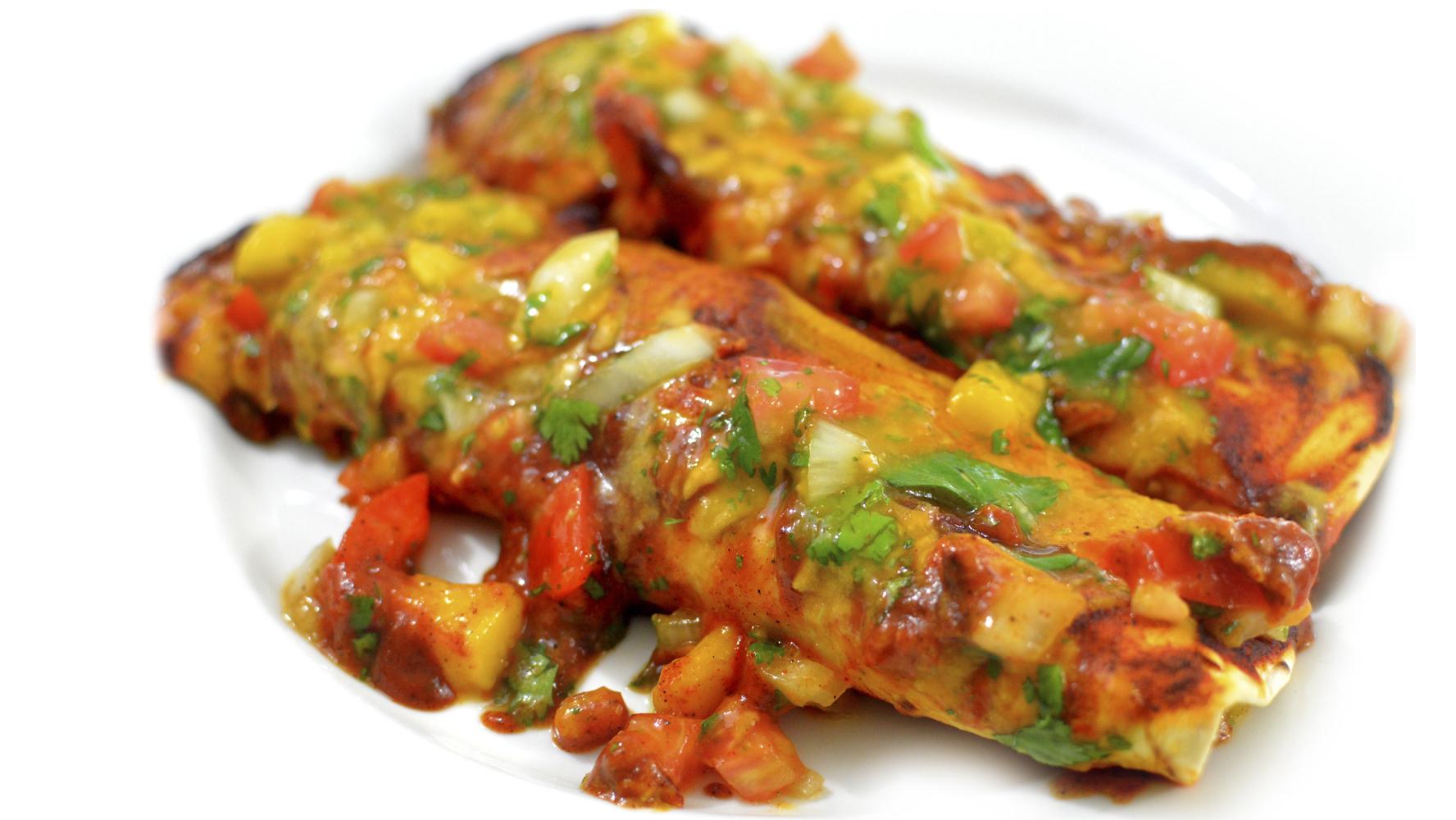 Vegan Cheese + Bean EnchiladasBest Dairy Free Mexican Dinner