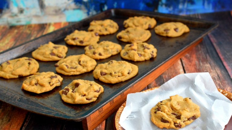 Perfect Vegan Chocolate Chip Cookies - Soft! Rich Bitch Cooking Blog