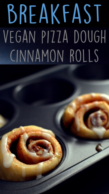3 Vegan Breakfast Ideas - Cinnamon Rolls - Rich Bitch Cooking Blog