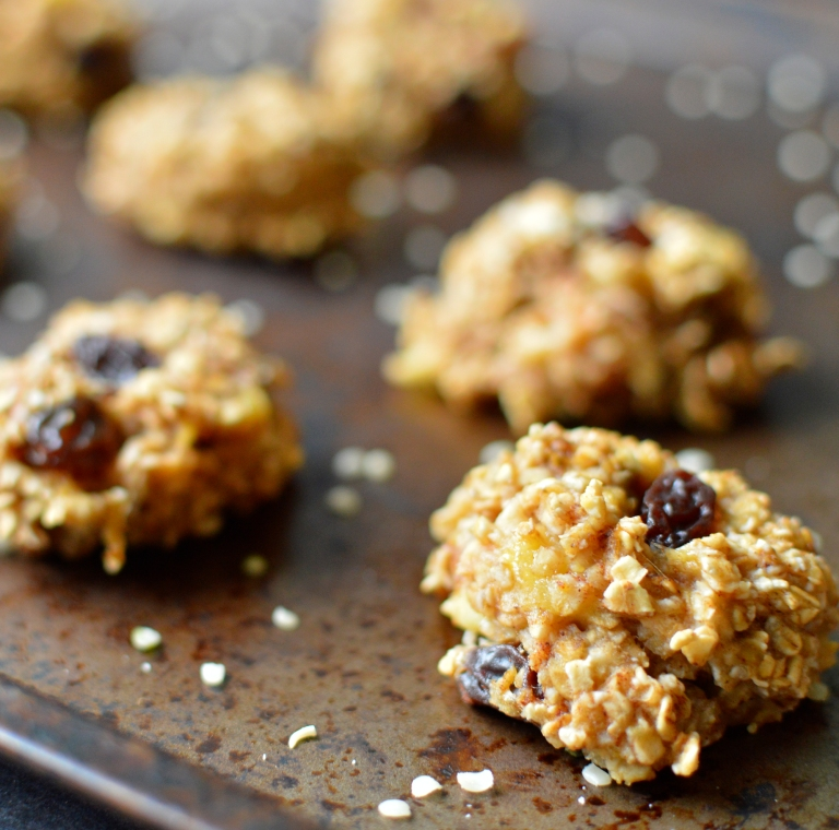 Vegan What I Eat In A Day - Budget (3#) - Banana Oatmeal Breakfast Cookies -  2 Ingredients - Gluten Free - Rich Bitch Cooking Blog