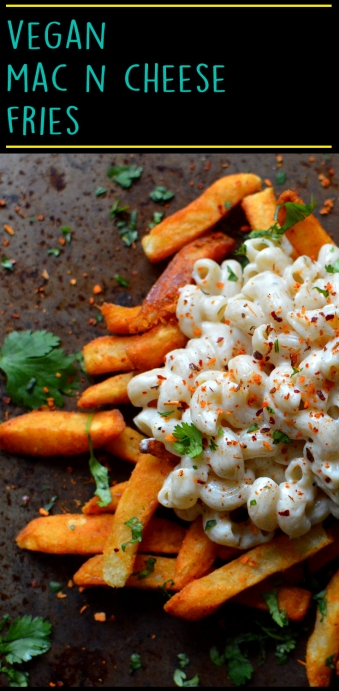 Vegan Mac n Cheese Fries - Vegan What I eat In a Day - Junk Food As FUCK