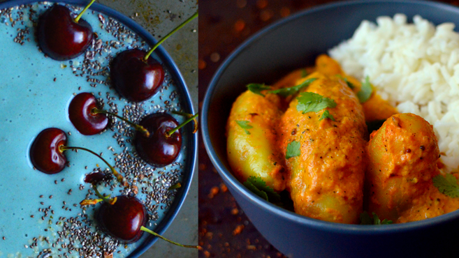 Vegan What I Eat In A Day - Indian (#9) - Rich Bitch Cooking Blog
