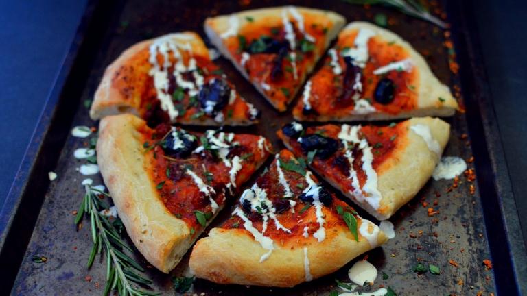 Vegan Sun Dried Tomato Pizza - Vegan What I Eat In A Day - $6 Budget - Italian (#8)