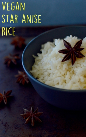 Star Anise Rice - 11 Vegan Rice Recipes - Rich Bitch Cooking Blog