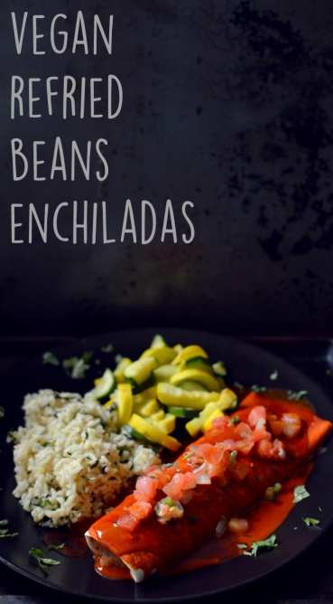 Vegan What I Eat In A Day - Mexican Feast (#6) - Enchiladas, Cilantro Lime Rice, Squash - Rich Bitch Cooking Blog