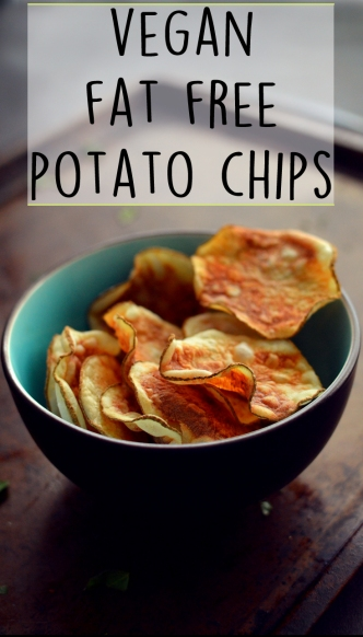 Vegan Fat Free Potato Chips - Microwave - 10 Ways To Cook Potatoes - VEGAN - Baked, Grilled, Mashed, Smashed, Fries, Chips, Duchess, Stacked, Wedges, Hash Browns, Patties, Hasselback - Rich Bitch Cooking Blog