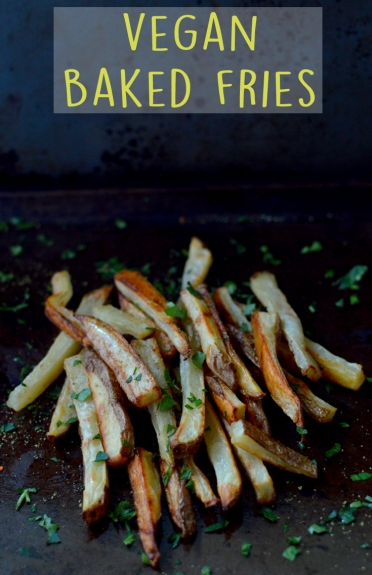 Vegan Baked Fries - 10 Ways To Cook Potatoes - VEGAN - Baked, Grilled, Mashed, Smashed, Fries, Chips, Duchess, Stacked, Wedges, Hash Browns, Patties, Hasselback - Rich Bitch Cooking Blog