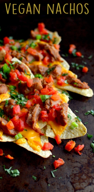 Vegan Nachos - Vegan What I Eat In A Day - Mexican Recipes - Rich Bitch Cooking Blog