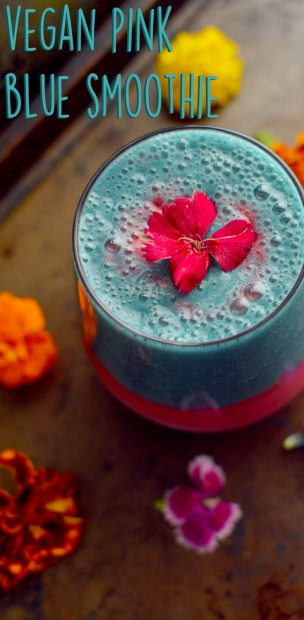 a-vegan-pink-blue-smoothie-pinterest