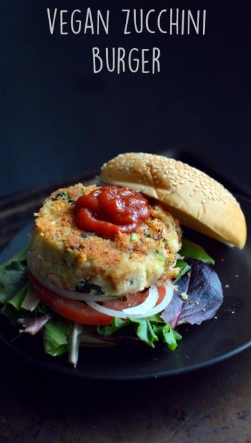 Vegan Zucchini Burger - 6 Veggie Burger Recipes (Vegan)