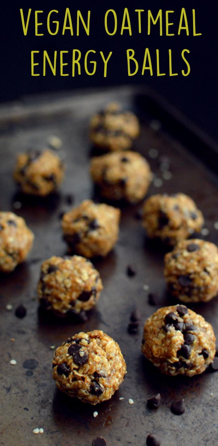 Vegan Oatmeal Energy Balls with Chocolate -7 Vegan Oatmeal Recipes - More Than Breakfast - Rich Bitch Cooking Blog.jpg