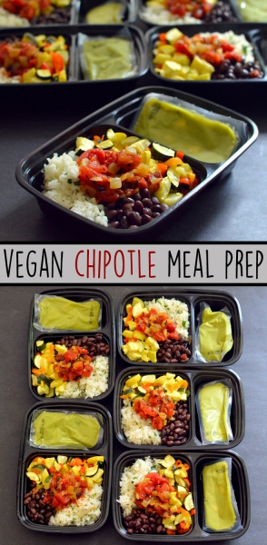 Vegan Chipotle Bowl Meal Prep - Cheap + Easy - Rich Bitch Cooking