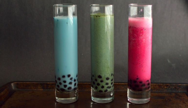 Coffee, Fruit, Almond Milk - 4 Vegan Bubble Teas (Boba) - Rich Bitch Cooking Blog