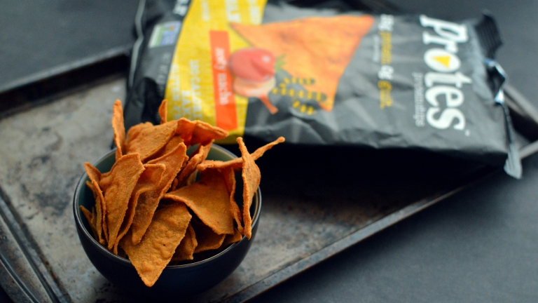 High Protein Protes Chips - 10 Vegan Snacks Under 250 Calories - Low Calories, Easy, Fast, Cheap, Healthy Snacks - Rich Bitch Cooking Blog
