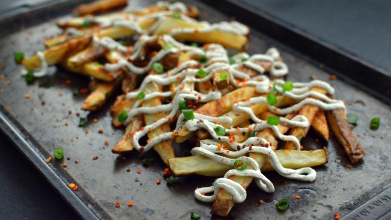 Vegan Tahini Oven Baked Fries Snacks - 5 Vegan Whole Food Snacks - Healthy, Simple, College, Kid Snacks - Rich Bitch Cooking Blog