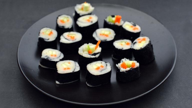 Vegan Sushi without Rice - 6 Vegan Gourmet Potato Cleanse Recipes (Starch Solution/HCLF) Fat Free, Gluten Free, Grain Free - Rich Bitch Cooking Blog