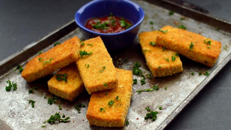 Vegan Crispy Breaded Tofu Nuggets - Rich Bitch Cooking Blog